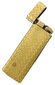 Cartier Gold Chevron Lighter CARTL03 170762
