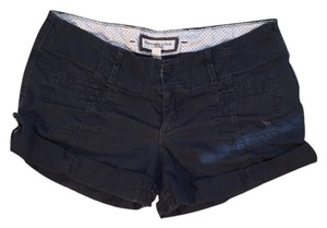 Abercrombie & Fitch Cuffed Shorts Navy