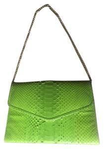 CAMILLE ZARSKY Lime Green Clutch
