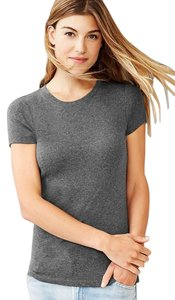 Gap Favorite Crewneck Crew T Shirt Grey