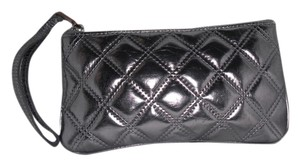 Marc Jacobs Marc Jacobs Metallic Silver Wallet/ Cosmetic Case/Wristlet