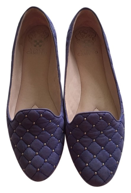 Item - Dazzle Blue/Powdered Glitz Suede Lilliana Flats Size US 7.5 Regular (M, B)