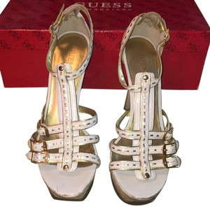 Guess By Marciano White Platforms