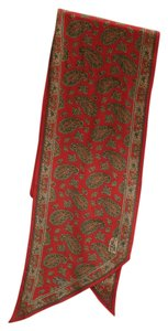 Liberty Boot Co. Liberty of London 100% silk red paisley scarf
