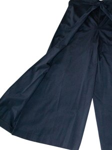 Other Singapore Wrap Faille Comfortable Relaxed Pants Black