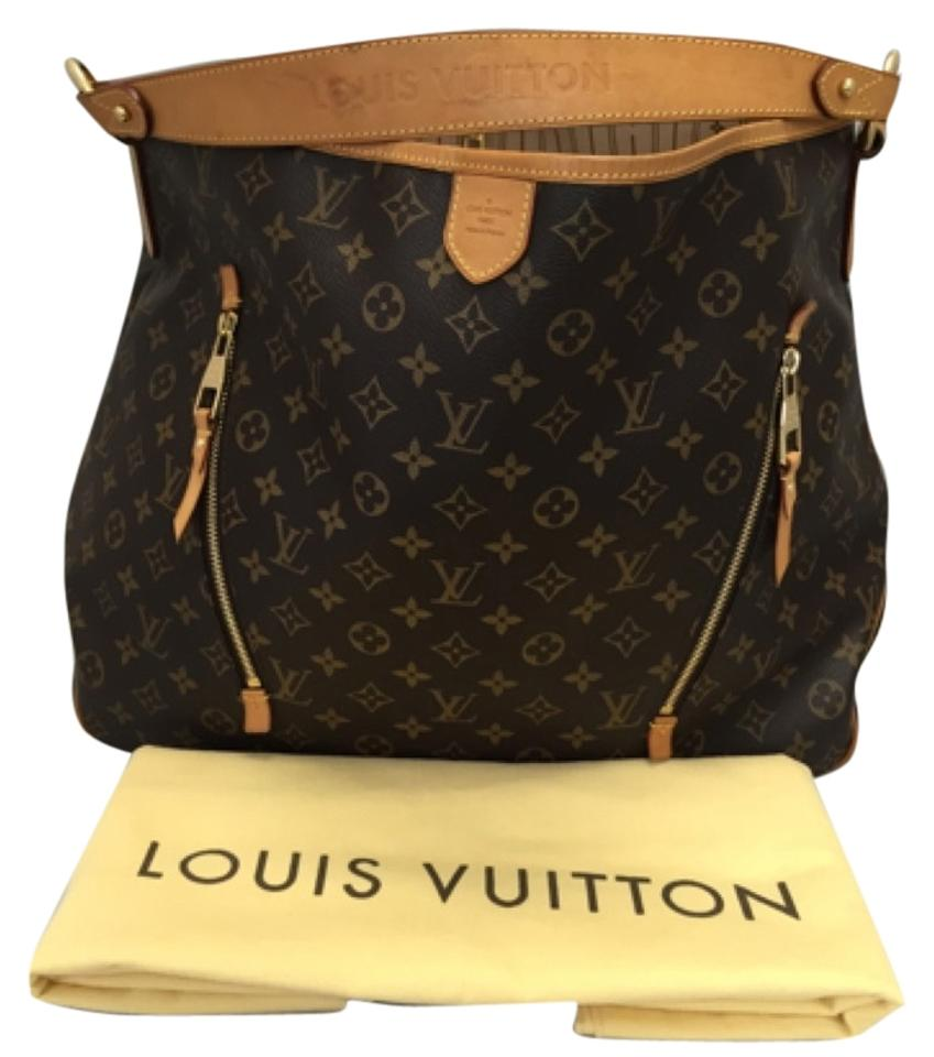 6ecfbe970f8f Louis Vuitton Delightful Gm Monogram with Dustbag Brown Canvas Hobo Bag -  Tradesy