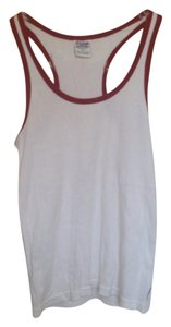 Abercrombie & Fitch Gym Issue Cotton Fitness Racer-back Top White