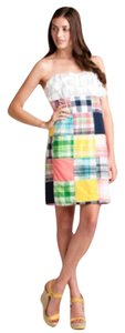Lilly Pulitzer short dress Patchwork Preppy Plaid on Tradesy