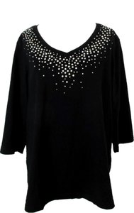 Quacker Factory Top Black