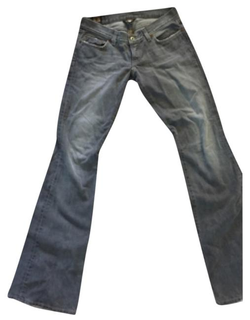 Item - Faded Grey Lil Maggie Flare Leg Jeans Size 29 (6, M)