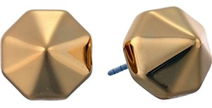 Rebecca Minkoff NEW Rebecca Minkoff Gold Pyramid Studs - Earrings