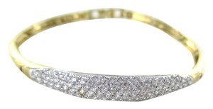 Other 14KT SOLID YELLOW GOLD BRACELET 118 PAVE DIAMONDS GENUINE 2.50 CARAT 10.7 GRAMS