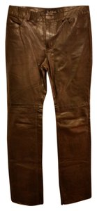 Earl Jean Boot Cut Pants dark brown