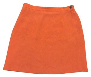Sonia Rykiel Orange Skirt