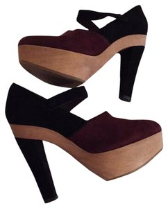 Marni Black and burgundy Platforms