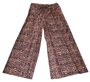 Other New Comfortable Adjustable Wrap Leopard Relaxed Pants Leopard print