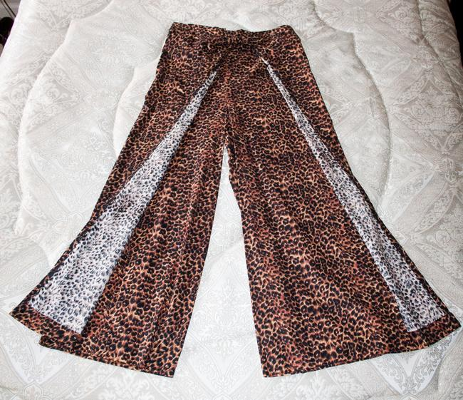 Other New Comfortable Adjustable Wrap Relaxed Pants Leopard print Image 3