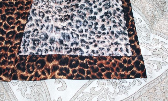 Other New Comfortable Adjustable Wrap Relaxed Pants Leopard print Image 4