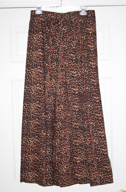 Other New Comfortable Adjustable Wrap Relaxed Pants Leopard print Image 6