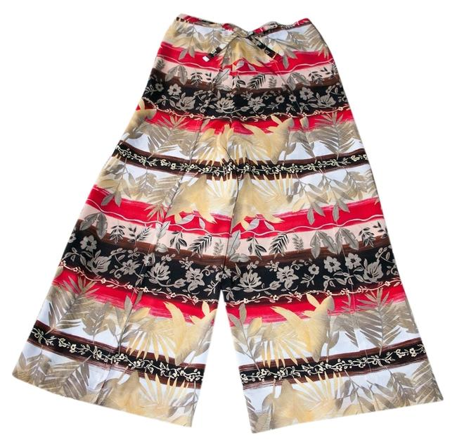 Preload https://item2.tradesy.com/images/red-beige-black-singapore-style-wrap-relaxed-fit-pants-size-petite-4-s-6399001-0-0.jpg?width=400&height=650