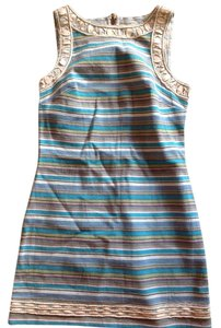 Free People short dress Blue Summer Festival on Tradesy