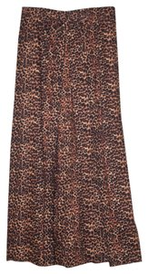 Handmade In Usa Wrap Relaxed Pants Leopard print