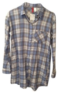 H&M short dress Plaid Shirt Summer on Tradesy