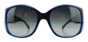 Chanel New Chanel 5227-H c. 1218/3C Blue Transparent Gradient Full-Frame Sunglasses 58mm Made in Italy