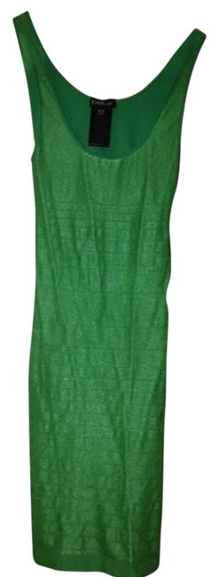 bebe Green Mini Night Out Dress Size 6 (S) bebe Green Mini Night Out Dress Size 6 (S) Image 1