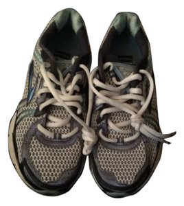 Brooks Silver and Blue Athletic