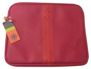 Tory Burch Tory Burch Pink iPad Leather Sleeve Tablet Case