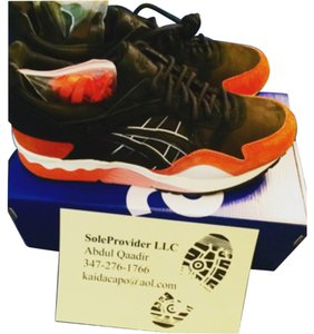 Asics Orange & Black Athletic