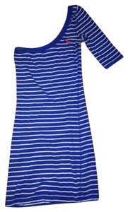 Abercrombie & Fitch short dress BLUE/WHITE on Tradesy