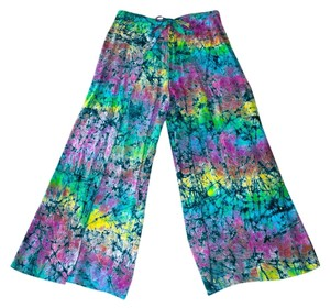 Other Handmade In Usa Comfortable New Singapore Style Wrap Relaxed Pants Multi-colored