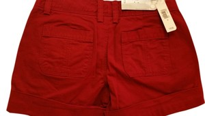 Old Navy Cuffed Shorts wine red