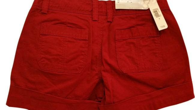 Old Navy Cuffed Shorts wine red Image 0