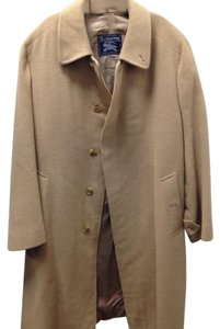 Burberry Camel Hair Basic Warm Trench Coat