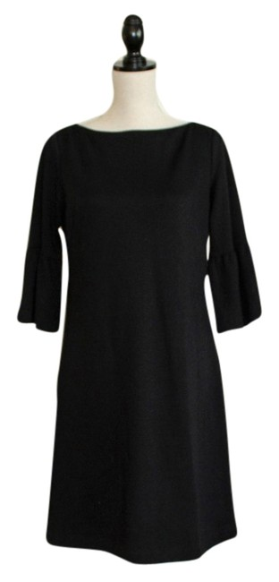 Preload https://img-static.tradesy.com/item/6403930/donna-morgan-black-bell-sleeves-knee-length-workoffice-dress-size-8-m-0-0-650-650.jpg