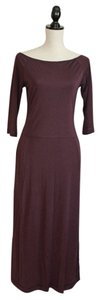 Wine Maxi Dress by J.Crew
