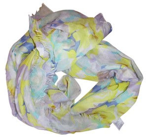 Other Floral Sheer Lightweight Scarf Wrap Shawl