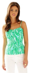 Lilly Pulitzer Top Green white