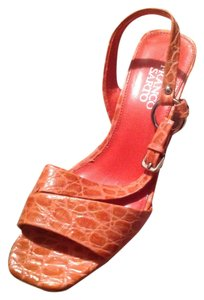 Franco Sarto Burnt Orange Wedges