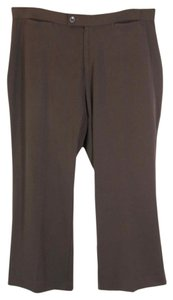 CJ Banks Classic Fit Trouser Trouser Pants Brown