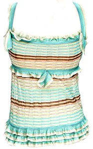 Missoni Striped Ruffle Top