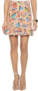 SALONI Mini Skirt Peach