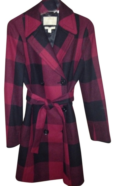 Item - Black and Red Coat Size 4 (S)