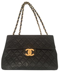 Chanel Vintage Classic Jumbo Shoulder Bag