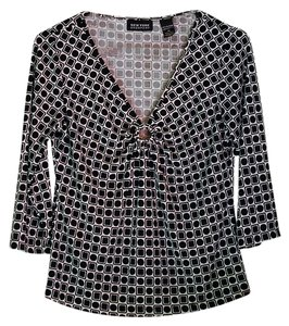 New York & Company Top black & white