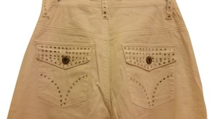 Vanilla Star Flare Pants white