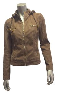 Downtown Coalition Light brown Leather Jacket